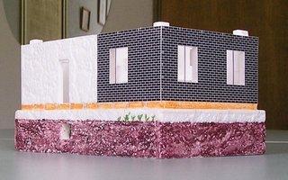 Самодельные макеты домов