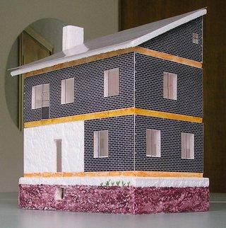 Строительство моделей деревянных домов