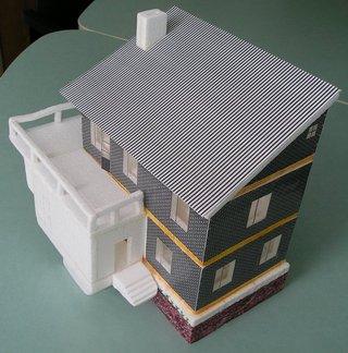 Как сделать макет здания будущего?