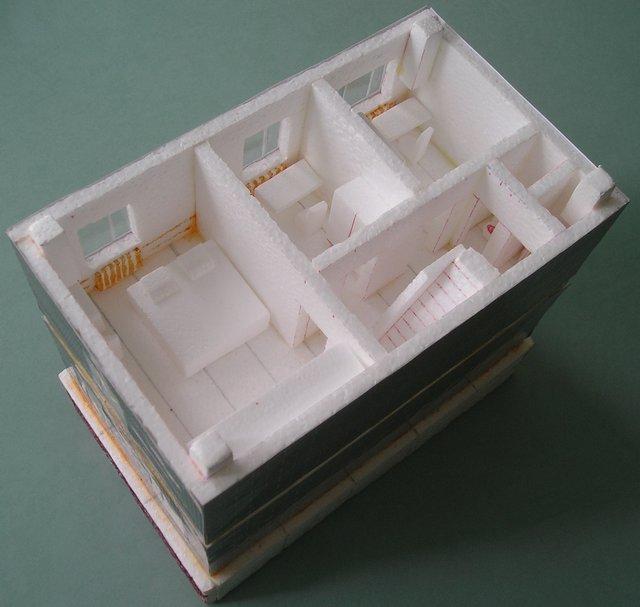Модель комнаты своими руками