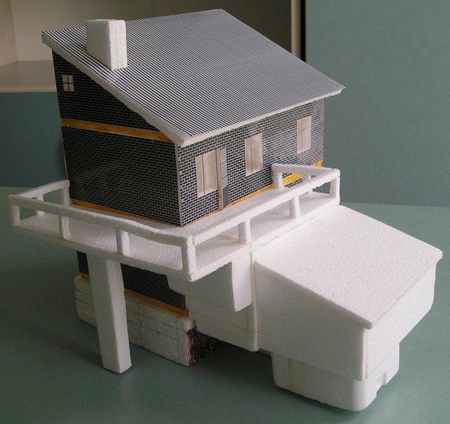 Макеты домов сделать своими руками 17